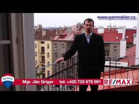Video Prodej bytu 3+kk v osobním vlastnictví 90 m², Praha 7 - Bubeneč