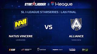 Alliance vs Na`Vi, StarSeries 13 LAN-Final, Day 1