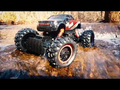 Review And How To Of Large Rock Crawler RC Car 4x4 Remote Control