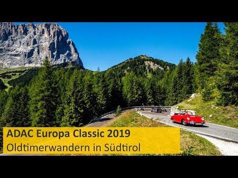 ADAC Europa Classic 2019 - Oldtimerwandern in Südtirol