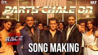 Party Chale On Song Making - Race 3 Behind the Scenes | Salman Khan | Mika Singh, Iulia Vantur