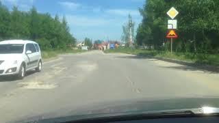 Плохие дороги по улице Шереметьевская в Рязани