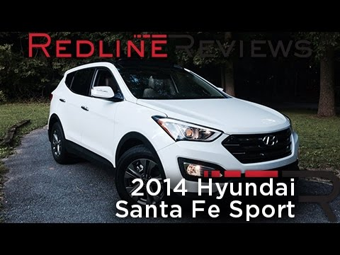redline review 2014 hyundai santa fe sport. Black Bedroom Furniture Sets. Home Design Ideas