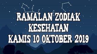 Ramalan Zodiak Kesehatan Kamis 10 Oktober 2019