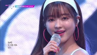 BUNGEE (Fall In Love)   오마이걸(OH MY GIRL) [뮤직뱅크 Music Bank] 20190816