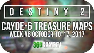 Destiny 2 Nessus Treasure Map Locations (Cayde-6 Treasure Maps Guide Week #6 10/10 - 17/10)
