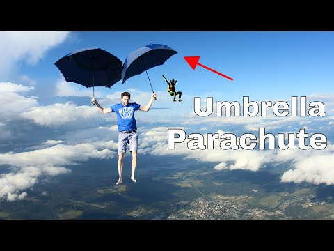 Can You Use Umbrellas Instead of a Parachute?