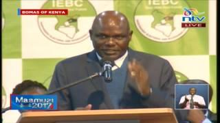 IEBC explains 'unofficial'  results - VIDEO
