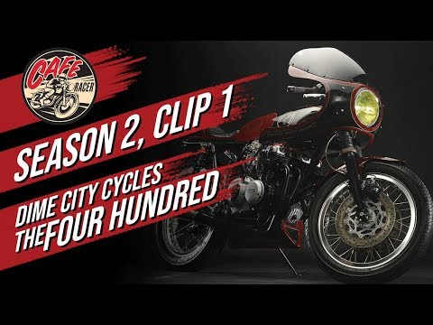 Velocity's Cafe Racer TV Season 2, Clip 1 of Dime City Cycles and The Four Hundred