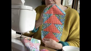 Quilting On A Sunday, Flying Goose Kaffe Fassett And A Look At My Mum's Hexagon Flower Garden