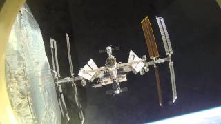 Soyuz redocking at the ISS (4x speed)