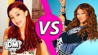 Disney Channel Celebrities VS Nickelodeon Celebrities! Ariana Grande VS Zendaya! | Dream Mining