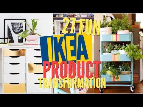 27 Fun IKEA Product transformation ideas Remake