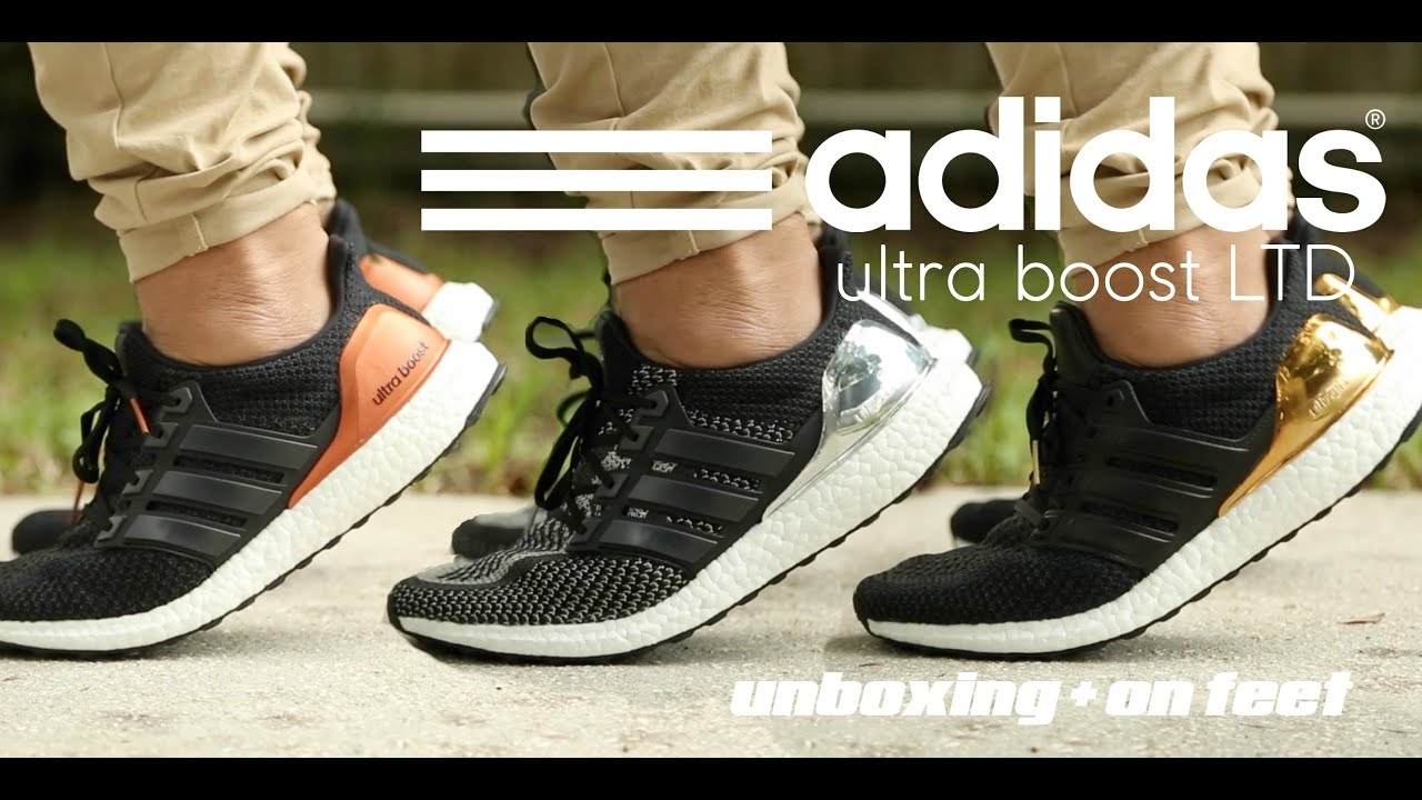 05621548644 Video Adidas Ultra Boost LTD  Olympic Pack  Unboxing + On Feet