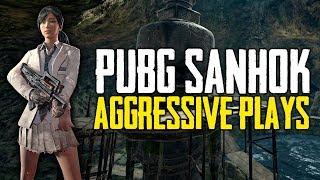 PUBG Crazy Aggressive High Kill Matches on Sanhok (Playerunknown