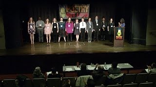 Full Episode: Ohio Poetry Out Loud 2017