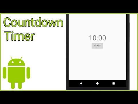 Chronometer Application Android Studio - смотреть онлайн на