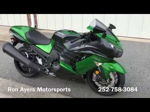 2018 Kawasaki Ninja ZX-14R ABS SE in Greenville, North Carolina - Video 1
