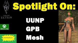 Skyrim (mods) - Jade - Spotlight On: UUNP GPB Mesh