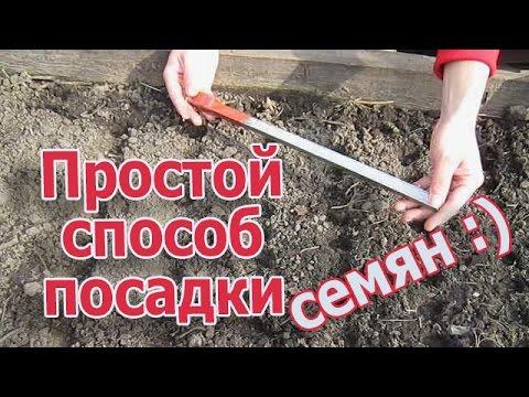 Универсальное устройство для посадки мелких семян (укр.)
