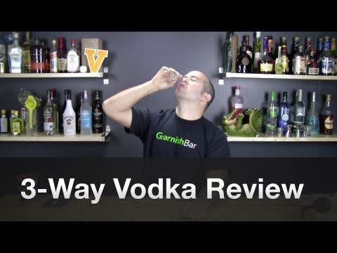 Tito's, Pinnacle, and Ketel One Vodkas review by GarnishBar – Episode #3