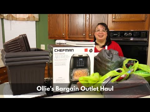 Ollie's Bargain Outlet Haul ~ Home Decor, Kitchen Gadgets, Cooking & Gardening ~ Amy Learns to Cook