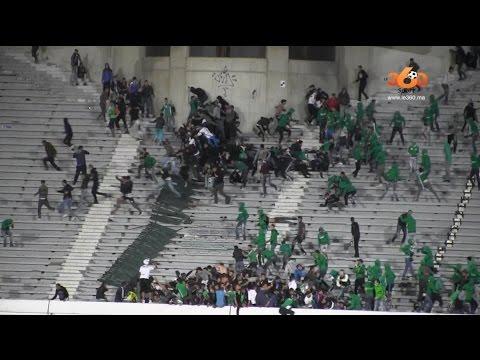 Doden bij rellen na voetbalwedstrijd Anfa