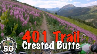 Wildflowers galore on Crested Butte's famous 401 Trail
