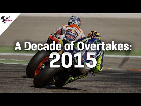 MotoGP 2015年に行われたMotoGP オーバーテイクを集めたハイライト動画