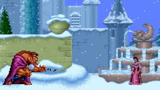 Disney's Beauty and the Beast (SNES) Playthrough - NintendoComplete - dooclip.me