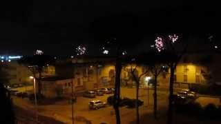preview picture of video 'New Years Eve 2014/2015 from Pomigliano d'Arco, Italy'