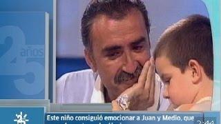 Las lágrimas de Juan Y Medio | 25 años de Canal Sur
