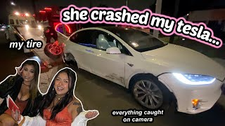 My Tesla Was Totaled... Live footage and storytime