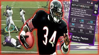 Walter Payton Is The BEST Back With No Abilities! Game Changing Plays! (Madden Ultimate Team)