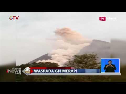 Status Waspada, Gunung Merapi Keluarkan Guguran Lava dengan Jarak Luncur 900 Meter - BIS 02/03