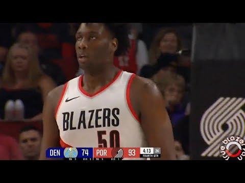Portland Trail Blazers vs Denver Nuggets Full Game Highlights - November 13, 2017