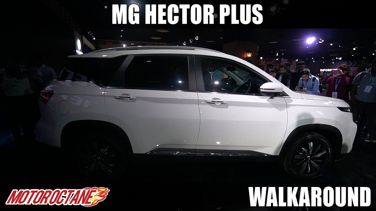Motoroctane Youtube Video - MG Hector Plus - XUV500 Competition | Auto Expo 2020 | Hindi | Motoroctane