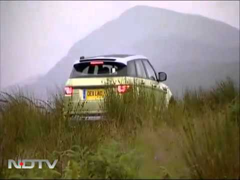 Range Rover Evoque test drive on NDTV