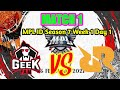 RRQ Tanpa Lemon || GEEK FAM ID VS RRQ HOSHI MATCH 1 || MPL ID SEASON 7 LIVE