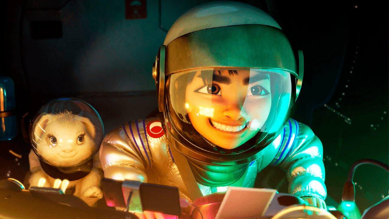 Дублированный трейлер мультфильма «Путешествие на Луну»