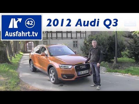 2012 Audi Q3 2.0 TDI quattro - Probefahrt / Fahrbericht / Test / Review