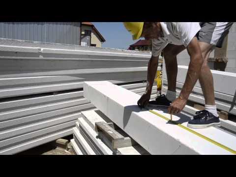 Szybki montaż stropu YTONG na budowie domu w Lublinie - zdjęcie