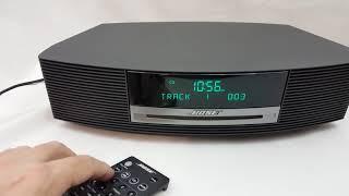 Bose Wave Radio AWRCC1 Platinum Music System Radio CD Player With Remote
