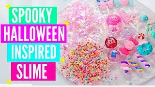 HALLOWEEN INSPIRED SLIME TUTORIALS! Easy How To Make Spooky/Cute Halloween Slime