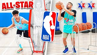 2HYPE NBA ALL STAR WEEKEND BASKETBALL CHALLENGES!