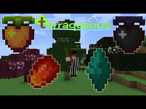Utimative Werkzeuge & Neue Früchte! Minecraft Terraqueous Mod #1 / Modvorstellung Deutsch