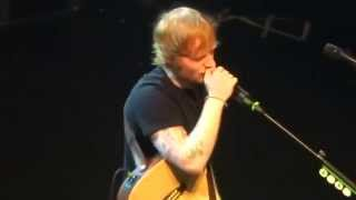 Ed Sheeran - Don't/Nina, live in Paris 11/27/14