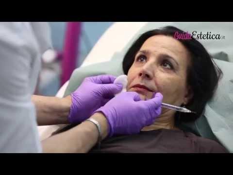 Maschere nutrienti di pelle intorno a occhi
