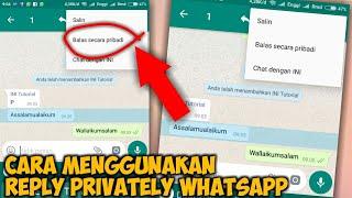 Cara Membalas Pesan Grup WhatsApp Secara Pribadi di Android