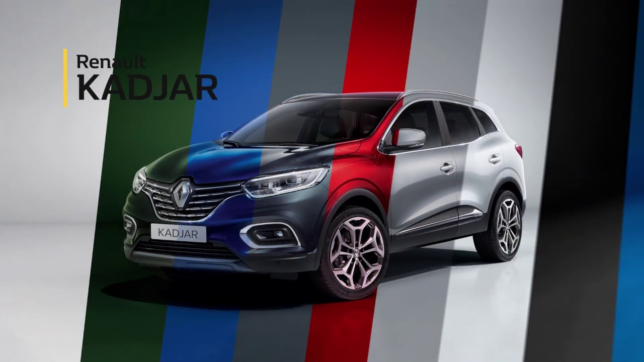renault kadjar video configuracao